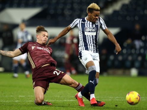Grady Diangana has not played for the Baggies for almost a month (Dave Rogers/PA)