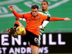 Lawrence Shankland scored the equaliser for Dundee United (Andrew Milligan/PA)