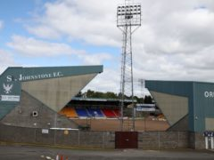 McDiarmid Park has seen another Covid-19 case (Andrew Milligan/PA)