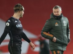 Ole Gunnar Solskjaer was delighted with Manchester United's win over Aston Villa (Carl Recine/PA)