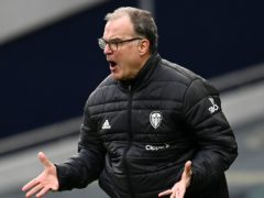 Marcelo Bielsa said he is to blame for Leeds' embarrassing FA Cup exit (Andy Rain/PA)