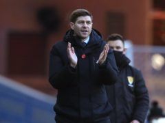 Rangers manager Steven Gerrard explains interval change (Andrew Milligan/PA)