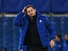 Frank Lampard's side were second best at Stamford Bridge (Andy Rain/PA)