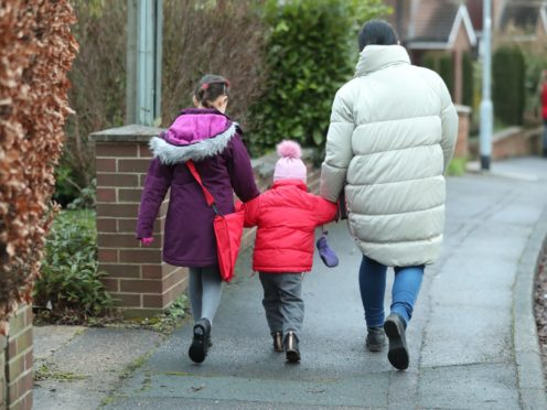 High demand for school places prompts concerns about Covid-19 transmission risks (Danny Lawson/PA)