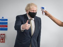 Boris Johnson insists the NHS has the capacity for the major vaccine rollout (Stefan Rousseau/PA)