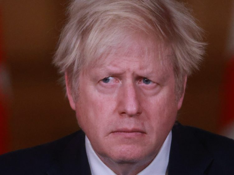 Boris Johnson announced a new lockdown in England on Monday (Hannah McKay/PA)