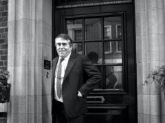 Albert Roux outside his Mayfair Restaurant, Le Gavroche in London (Adam Butler/PA)
