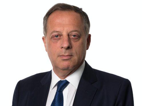 Richard Sharp, the former Goldman Sachs banker who will succeed Sir David Clementi as BBC chairman (Bank of England/PA)