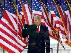 US President Donald Trump (Jacquelyn Martin/AP)