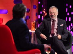 Graham Norton has said any awkwardness was his fault (Matt Crossick/PA)