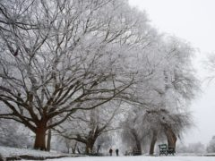 Warnings of snow and ice have been issued by the Met Office (Jacob King/PA)