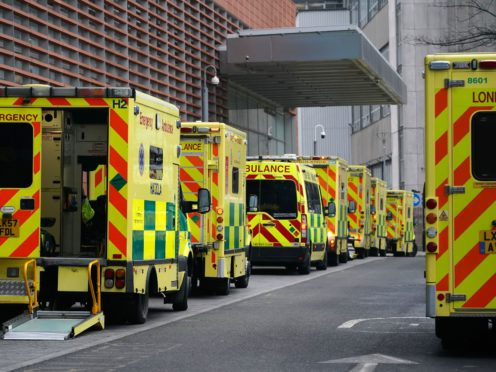Ambulance handover delays are at a scale never seen before, the chief executive of the College of Paramedics has said (Aaron Chown/PA)