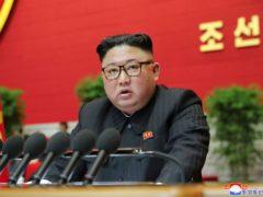 Kim Jong Un (Korean Central News Agency/Korea News Service via AP)