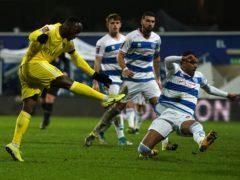 Neeskens Kebano scored Fulham's second goal against QPR (Tess Derry/PA)