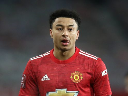 Jesse Lingard has joined West Ham on loan until the end of the season (Martin Rickett/PA)