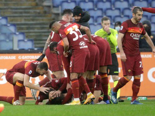 Gianluca Mancini struck for Roma (Gregorio Borgia/AP)