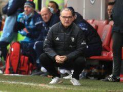 Marcelo Bielsa's Leeds were on the end of a shock (Adam Davy/PA)