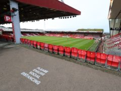 Aberdeen are open to talks about a different stadium site (Jane Barlow/PA)