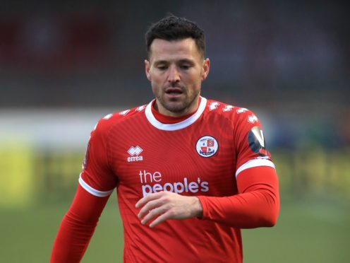 Mark Wright plays for Crawley (Adam Davy/PA)