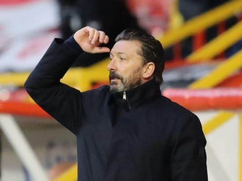 Derek McInnes looking for Aberdeen to bounce back to form (Jane Barlow/PA)