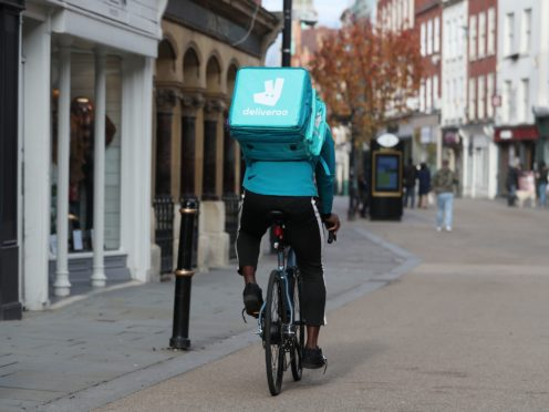 Deliveroo has been touted to float on the stock market later this year (David Davies/PA)