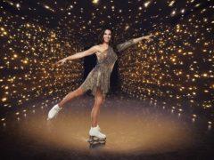 Dancing On Ice contestant Rebekah Vardy (Matt Frost/ITV)