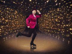 Dancing On Ice contestant Rufus Hound (Matt Frost/ITV)