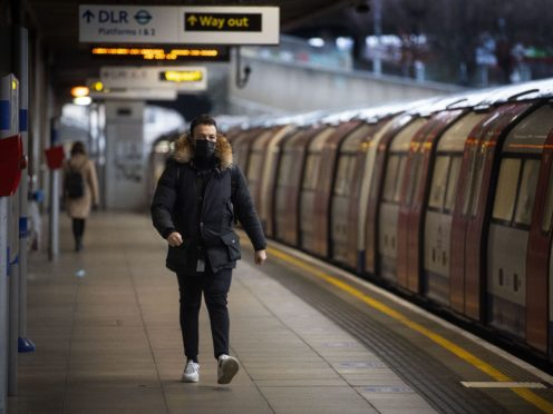 TfL commissioner Andy Byford said the network will 'absolutely' require Government support for at least the next two years (Victoria Jones/PA)