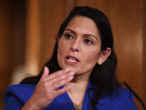 Home Secretary Priti Patel (COVID-19)
