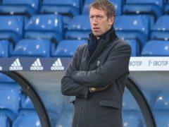 Brighton boss Graham Potter is preparing for the visit of Fulham (Michael Regan/PA)