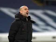 Pep Guardiola, pictured, might just have Manchester City edging into form at the perfect time (Dave Thompson/PA)