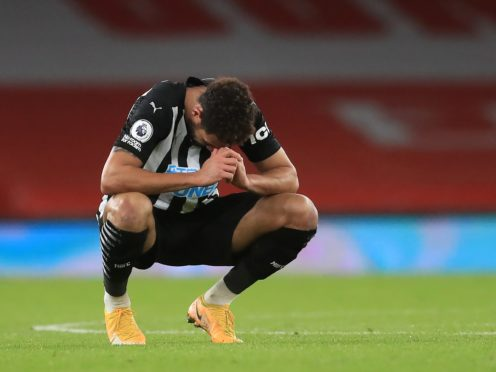 Newcastle will discipline Joelinton for breaching lockdown rules (Adam Davy/PA)