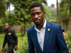 Uganda's leading opposition challenger Bobi Wine (AP/Jerome Delay, File)