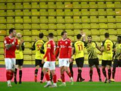 Troy Deeney scored the winner for Watford (Simon Marper/PA)