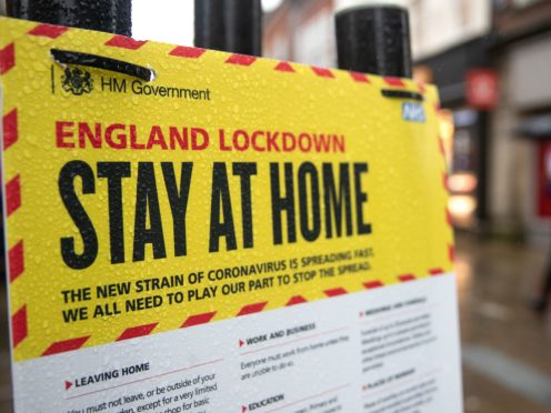 A scientist advising the Government on coronavirus called for tighter lockdown restrictions (Andrew Matthews/PA Wire)