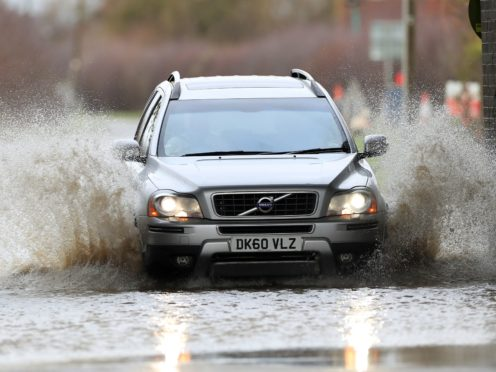 Weather warnings are in place in some parts of the country (Mike Egerton/PA)