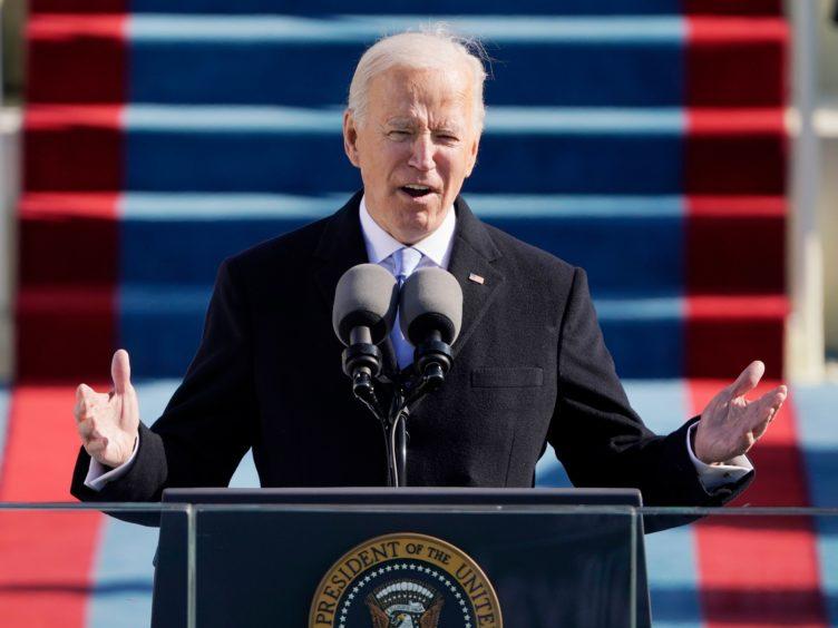 Joe Biden becomes the 46th president of the United States (Patrick Semansky, Pool/AP)