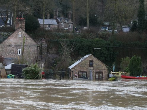 Flood warnings remain in place for parts of England (Nick Potts/PA)