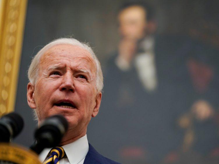 President Joe Biden spoke to Boris Johnson on Saturday (Evan Vucci/AP)