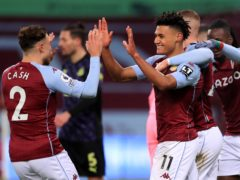 Aston Villa eased to victory against Newcastle (Mike Egerton/PA)