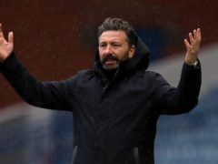 Derek McInnes' Aberdeen were held at Livingston (Andrew Milligan/PA)