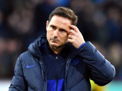 Frank Lampard, pictured, was sacked by Chelsea on Monday (Anthony Devlin/PA)