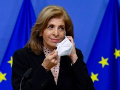 European Commissioner in charge of Health Stella Kyriakides (John Thys/Pool Photo via AP)