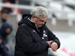 Newcastle head coach Steve Bruce remains confident his team can get itself out of trouble (Lee Smith/PA)