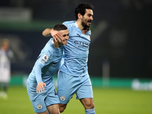 Ilkay Gundogan (right) has impressed for Manchester City this season (Nick Potts/PA)