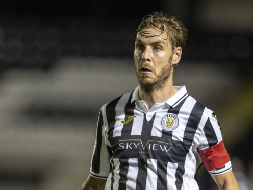 St Mirren's Sam Foley has moved to Motherwell (Jeff Holmes/PA)