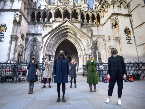 Protesters taken to court after preventing a deportation flight from taking off from Stansted Airport, have had their convictions overturned by the Court of Appeal Victoria Jones/PA)