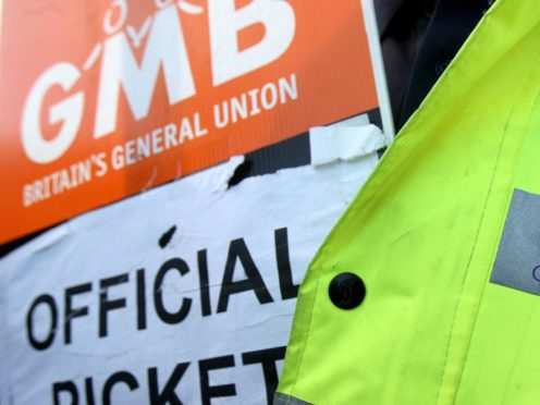 The union said services could be affected by action as early as Monday February 22 (Andrew Milligan/PA)