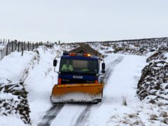 Heavy snow is forecast in Scotland (Andrew Milligan/PA)