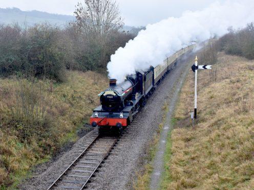 The Gloucestershire Warwickshire Steam Railway carried fewer than 29,000 passengers last year due to the coronavirus pandemic (Ian Crowder/GWSR/PA)